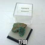 FUCHSITE  2cm by 1cm natural Crystal specimens